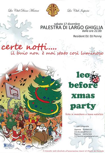 Locandina xmas party